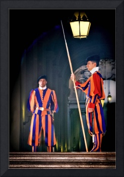 Swiss Guards at Vatican City