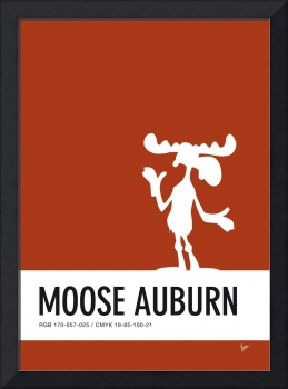 No19 My Minimal Color Code poster Bullwinkle