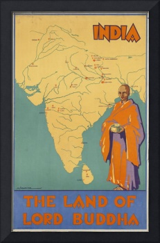 Vintage poster - India