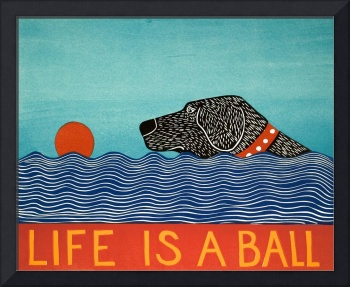 Life Is A Ball Black