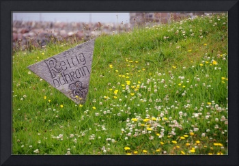 Grave Marker on Isle of Iona