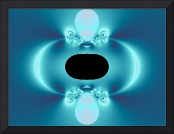 Black Hole in Blue