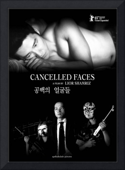 CANCELLED FACES - POSTER