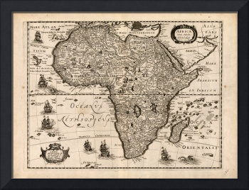 Map of Africa (1640)