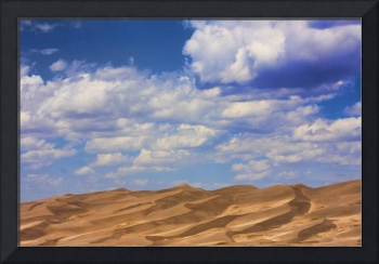 Clouds and Sand Dunes