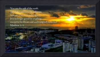 Sunset City Singapore , Matthew 5:13
