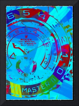 Abstract Rolex Paint 6
