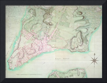 Plan of New York, 1776 (engraving)