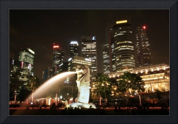 Singapore Merlion Fullerton Hotel