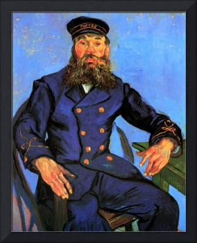 Portrait of the Postman Joseph Roulin 5