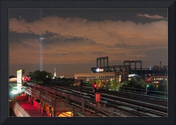 WTC Lights and Citi Field