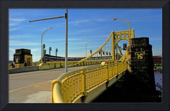 Pittsburgh - Roberto Clemente Bridge