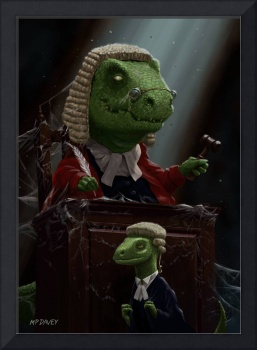 Dinosaur Judge in UK Court of Law