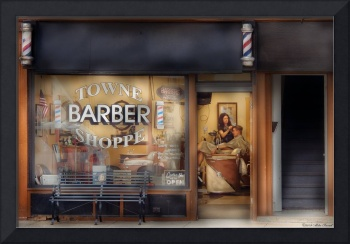 Barber - Getting a hair cut