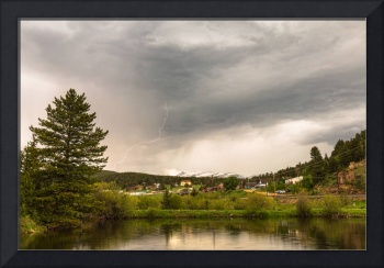 Afternoon Rollinsville Colorado Thunderstorms