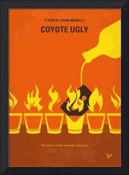 No909 My Coyote Ugly minimal movie poster