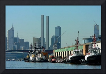Tugs on the Yarra
