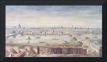 A View of London from St. Paul's to the Custom Ho