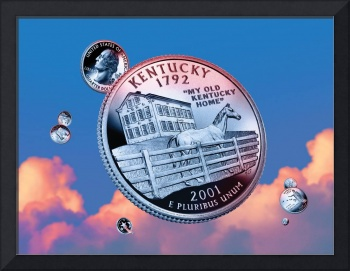 Kentucky State Quarter - Sky Coin 15