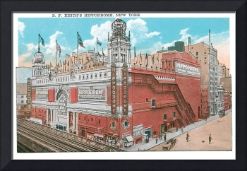 B. F. Keith's Hippodrome, New York