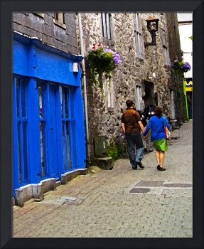 Young Couple In Galway