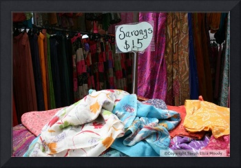 Sarongs in Byron Bay