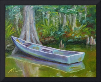 Boat on the Bayou