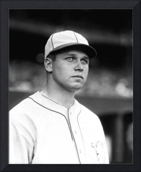 Jimmie Foxx looking away