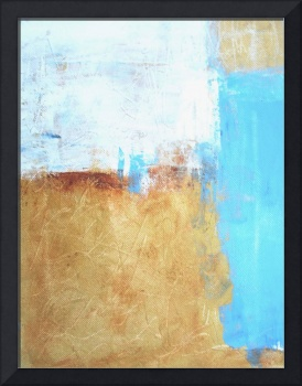 blue and Gold abstract no 54