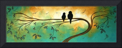 Love birds Fine art Print by MADART