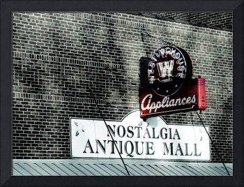 Westinghouse Retro Sign
