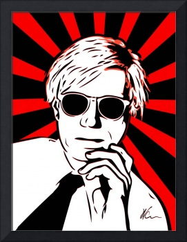 Andy Warhol Pop Art by William cuccio