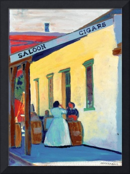 Saloon Girls and Cigars by Rd Riccoboni