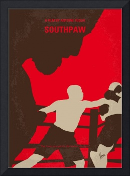 No723 My Southpaw minimal movie poster