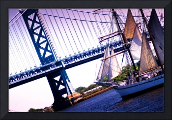 Tall Ship on Delaware River