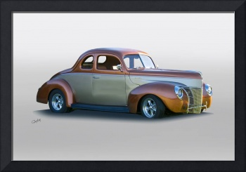 1940 Ford 'Fat Fender' Coupe