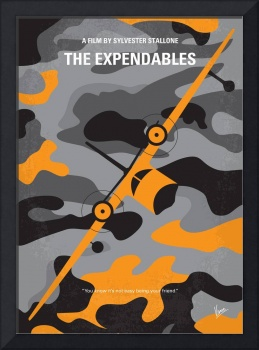 No413 My The expendables minimal movie poster