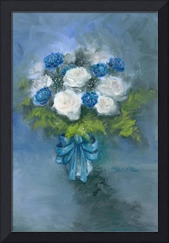Flowers From My Love Oil on Canvas