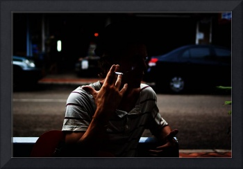 Smoking in the Street #2