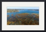 Oyster River Aerial : Chatham, Cape Cod by Christopher Seufert