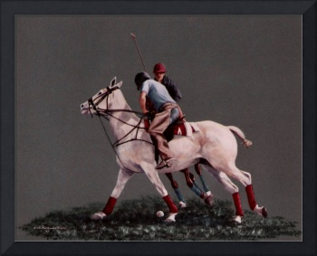 Polo painting