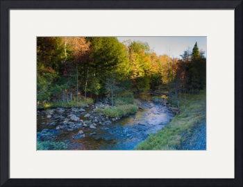 River Through the Adirondacks by D. Brent Walton