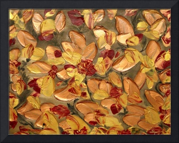 Red and Gold Petals