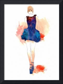 Runway Illustration