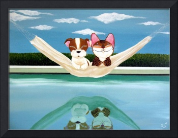 cat-art-by-catmasutra-Racial Harmony