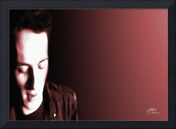 Joe Strummer, The Clash - fine art giclee print