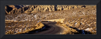 Road thru Red Rock Canyon National Conservation A