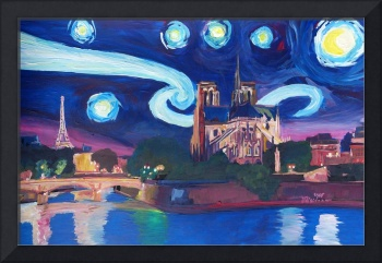 Starry Night in Paris - Unforgettable with Eiffel