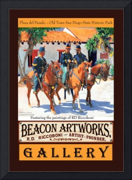 Beacon Artworks Gallery Poster US Army Dragoons