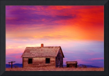 Little House On The Prairie Colorful Colorado Coun